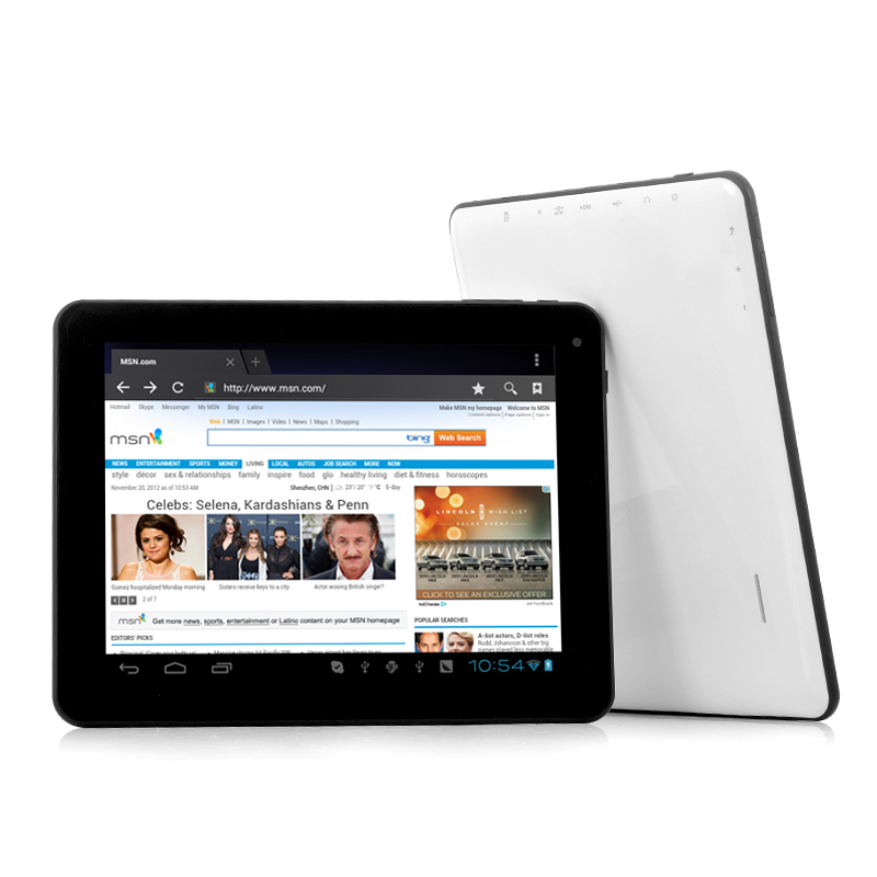 "Android 4.0 Tablet PC ""Bolt"" - 8 Inch Screen, 1.2GHz CPU, 1GB DDR3 RAM OA1706"